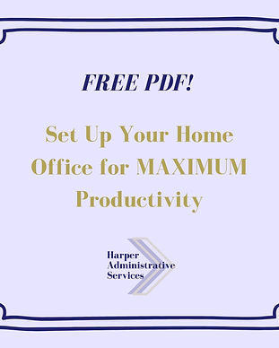 Cover image - set up home office for max