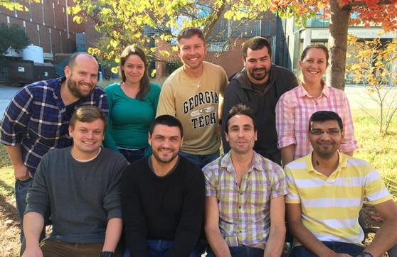 summer 2016 lab members, minus a few folks