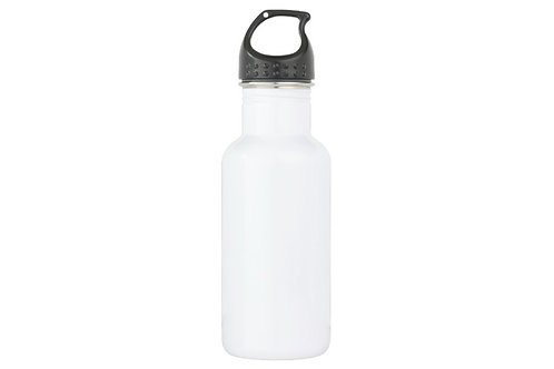 Customized Caricature/s on a White Water Bottle w/Name