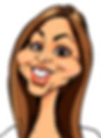 Digital Caricature in color