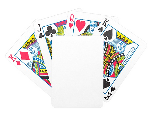 Customized Caricature on Poker Cards - Base price below