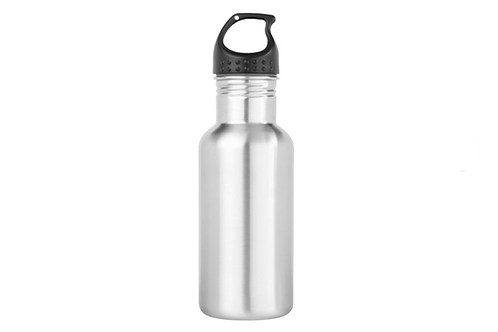 Customized Caricature on a Stainless Steel Water Bottle w/Name