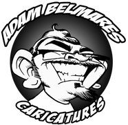 Adam Belmares Caricatures, caricaturist, caricature artist blog