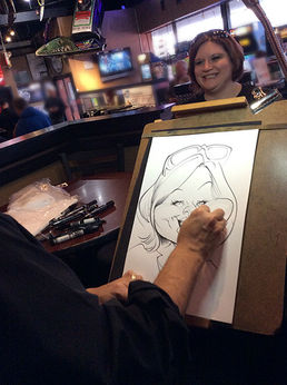 Caricaturist, Live Caricatures, corporate events, anniversaries, weddings, company parties, tradeshows, ideas for entertainment, mitzvahs, 50th birthday party, unique ideas, company functions