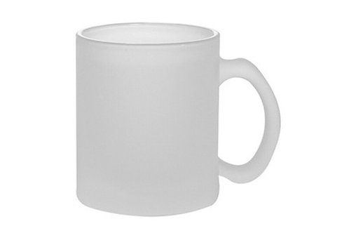 Customized Caricature/s on Frosted Glass Mug