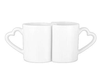 Customized Caricatures on Lover's Mug Set