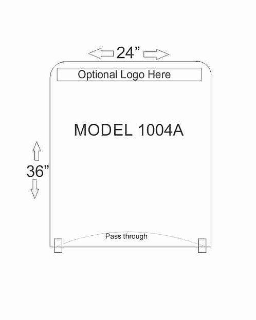 Model 1004A Includes Pass Through