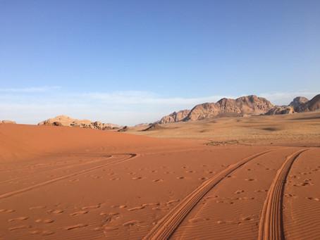 Salam Aleikum. We gaan naar Jordanië!