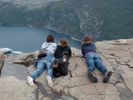 Onze huwelijksreis naar Noorwegen!