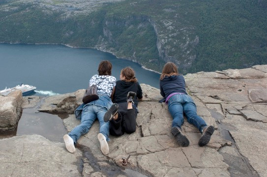 Preikestolen, Noorwegen, Norway, 2009