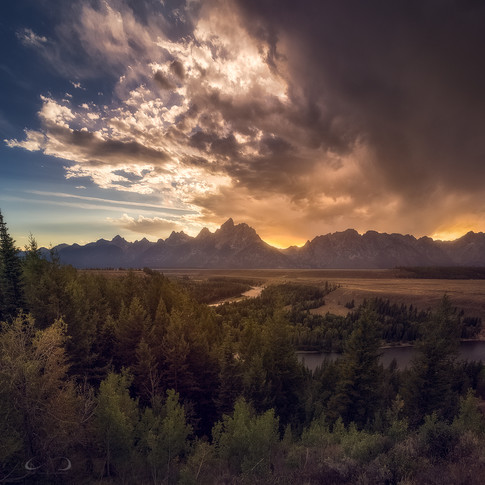 Storm Break at Tetons