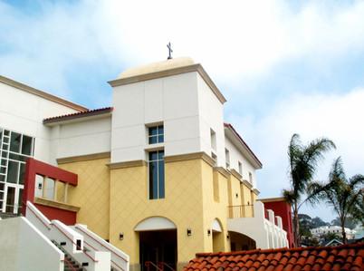 San Buenaventura Mission Holy Cross School