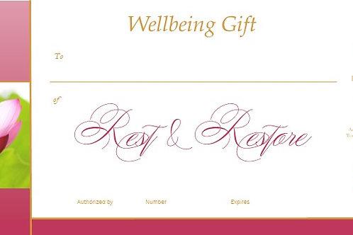Gift Voucher - Rest & Restore