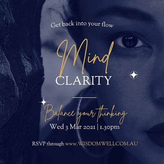 Energy Event - Mind Clarity