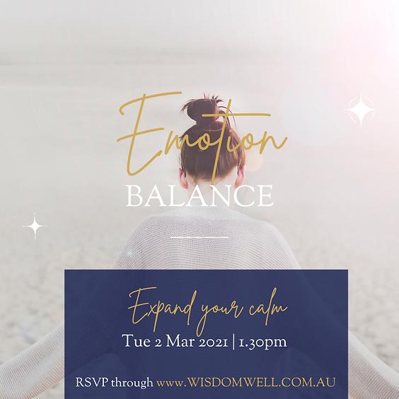 Energy Event - Emotion Balance