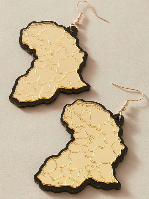 """Our Roots"" Drop Earrings"