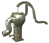 井戸水ポンプ