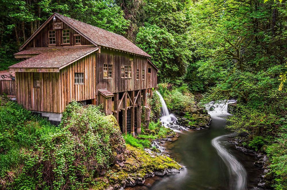 Cedar Creek Grist Mill Woodland, Washington