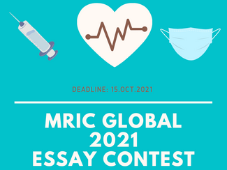 """MRIC & MRIC Essay Award 2021: """"The impact of COVID-19 pandemic in our lives"""""""