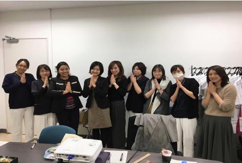 Image 15: Photo with the Minamisoma Municipal General Hospital's nursing staff