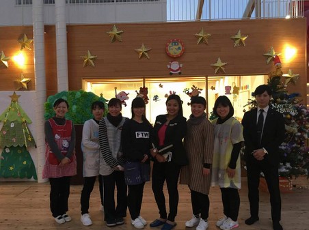 Image 8. The members and the Kanaya Nursery School facility