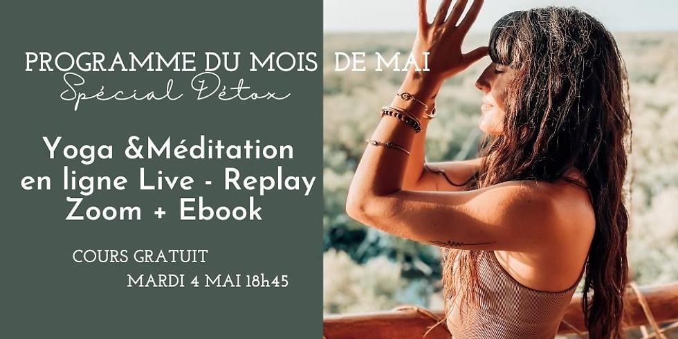 PROGRAMME YOGA & MÉDITATION DE MAI SPECIAL DETOX