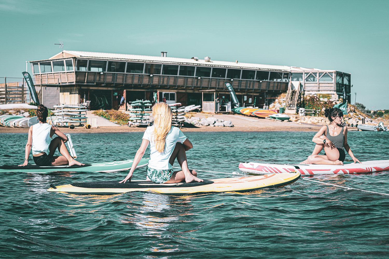 SUP Yoga ou Paddle Yoga