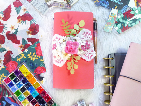 BDJ Travel Quest Journal Setup with Crazy About Paper