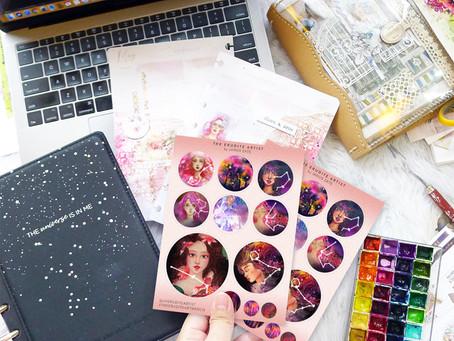 Freebie Sticker Sheet!