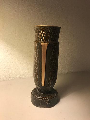 Bronze Flower Vase