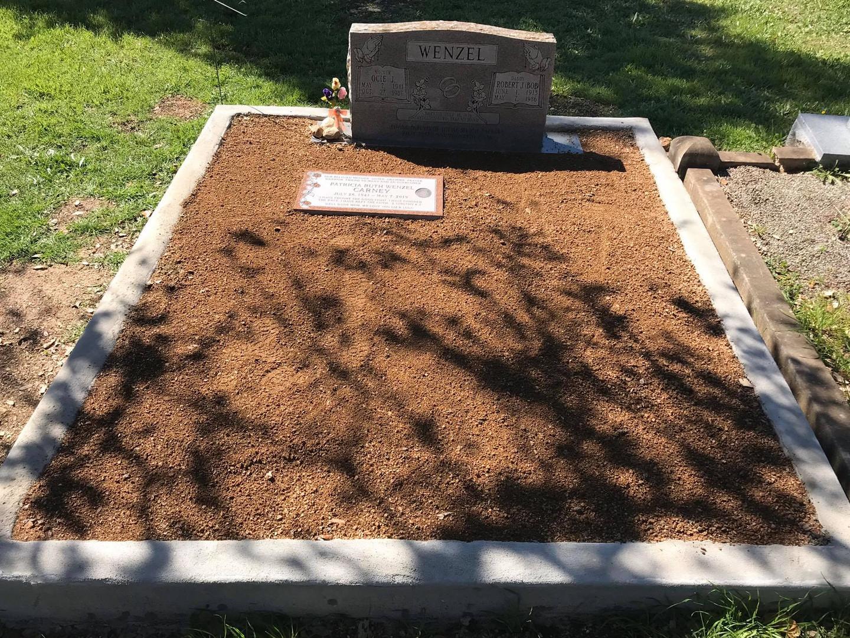 Headstone installation
