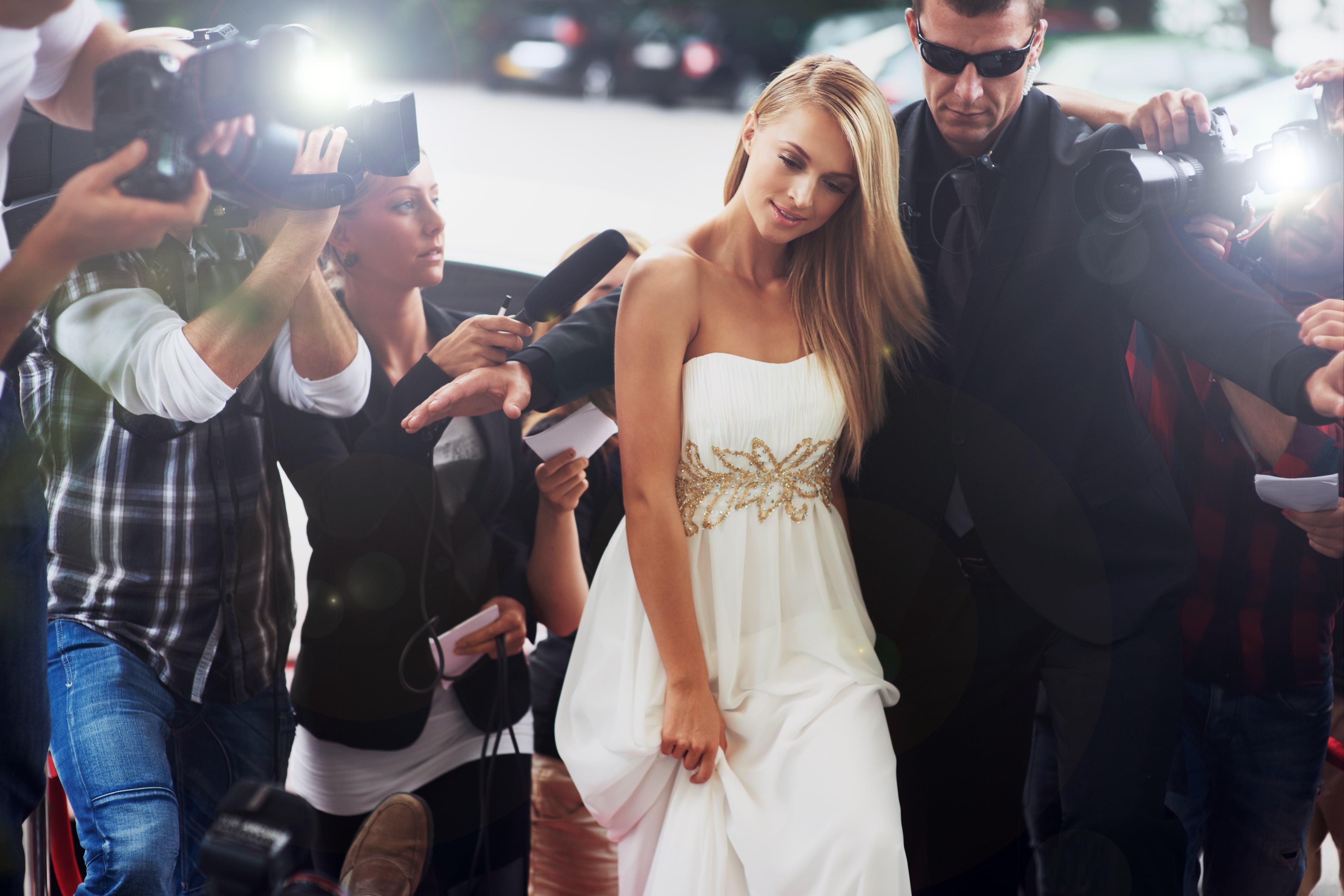 Personal security celebrity escort