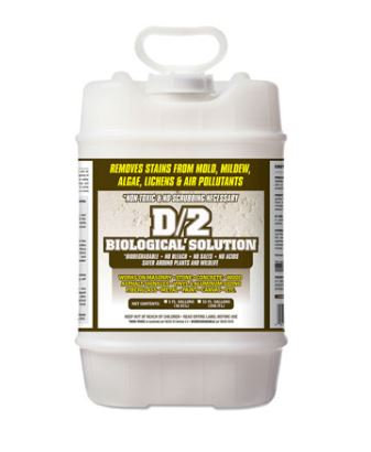 D/2 Biological Solution - 5 Gallon container