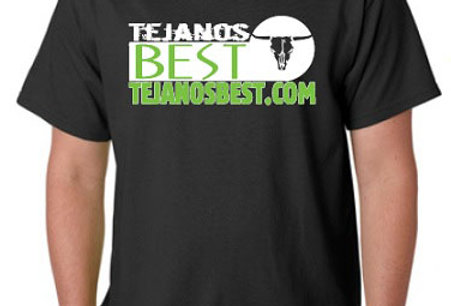 Tejanosbest. T-Shirt Black