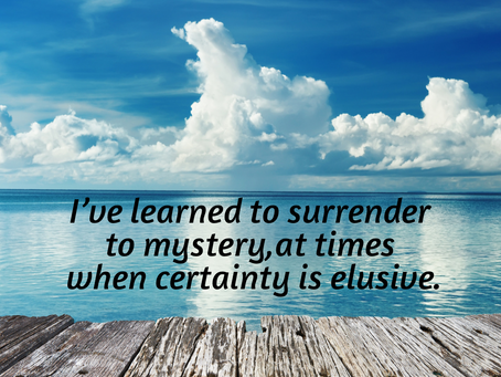 When Certainty Is Elusive