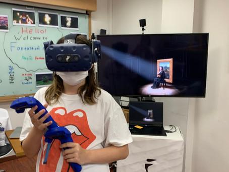 VR Camp on Italian Art