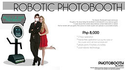 NEW NORMAL PACKAGES - 5 robotic photoboo
