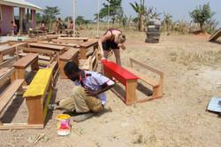 Donating desks