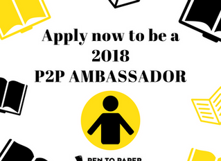 Pen to Paper Ghana (P2P) Ambassador Application 2018