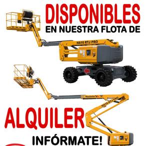 Plataformas elevadoras HAULOTTE                                           !! AHORA EN ALQUILER !!
