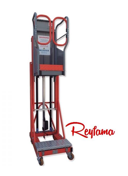 Plataforma elevadora eléctrica Gayner @ REYFAMA.jp