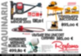promo.maquinaria | montacargas- elevador | vibrador | hormigonera 140Litros