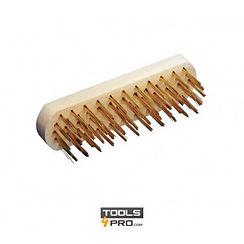 cepillo-de-obra-de-puas-redondas de acer