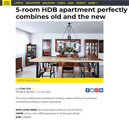 HOME & DECOR ST. GEORGE'S HDB APARTMENT