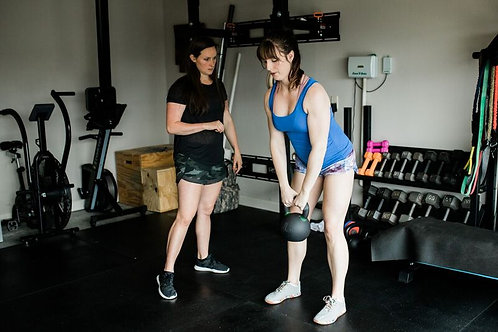 1 hr. One-on-one Personal Training (current clients)