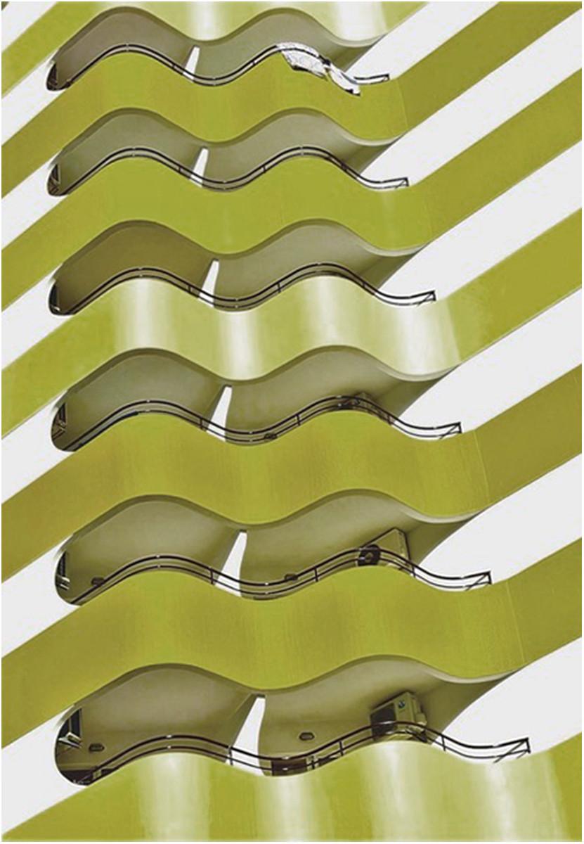 COLOUR - Compound Curves by Vincent McLaughlin (8 marks)
