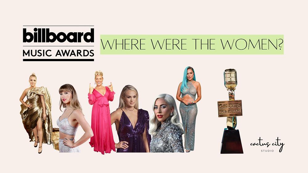 Lady Gaga, Taylor Swift, P!nk, Carrie underwood, Karol G, Gabby Barrett, billboard music awards
