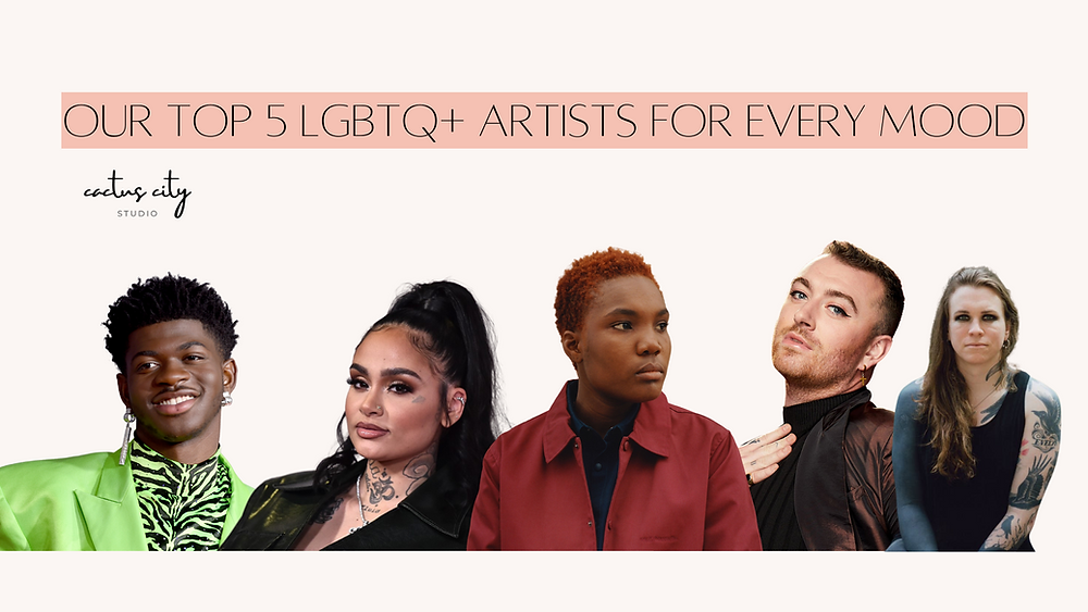 Lil Nas X, Kehlani, Arlo Parks, Sam Smith, Laura Jane Grace.