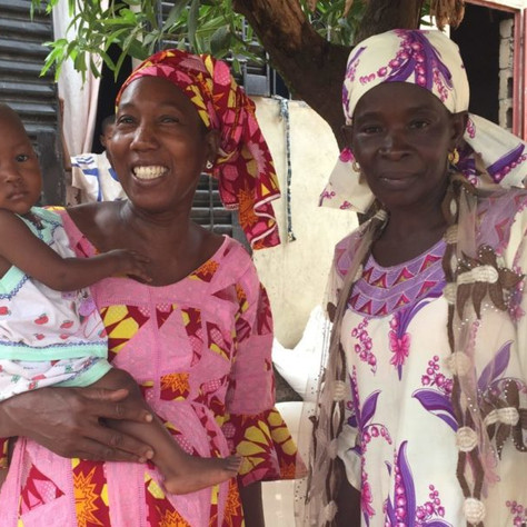 Maternal care at the doorstep: Salimata's story