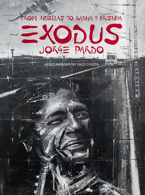 Exodos Jorge Pardo poster